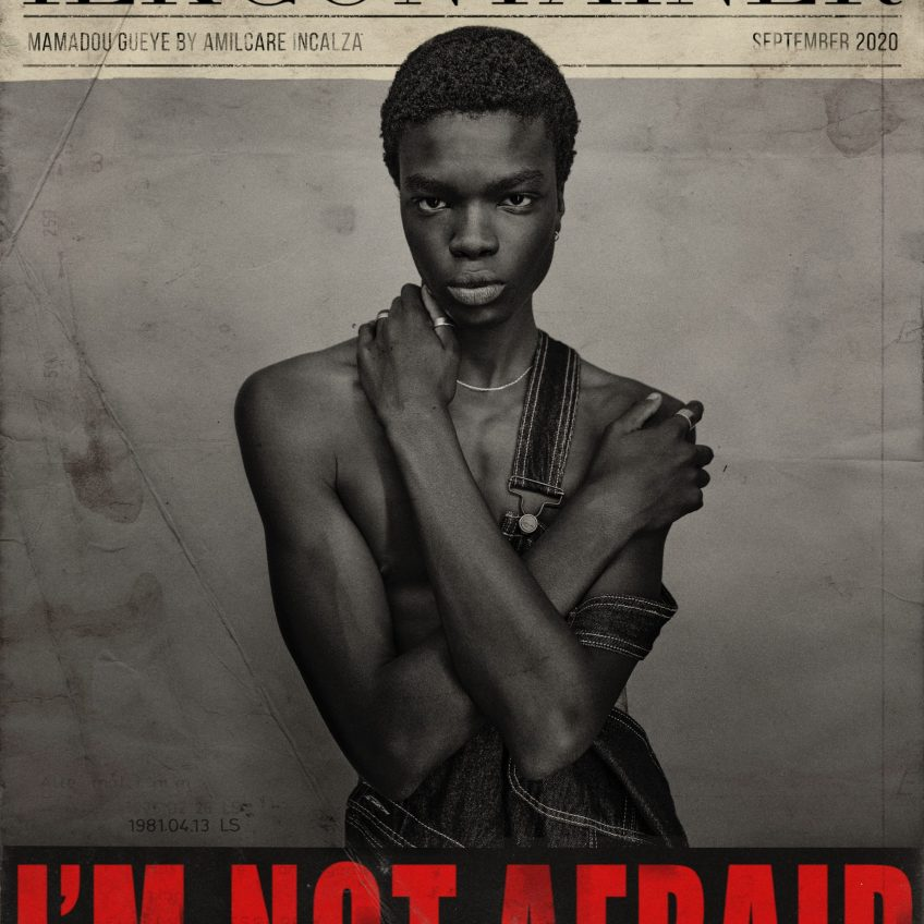 MAMADOU GUEYE  FROM WHY NOT MODELS BY AMILCARE INCALZA